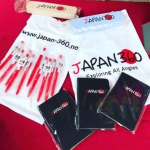 Japan360 freebies