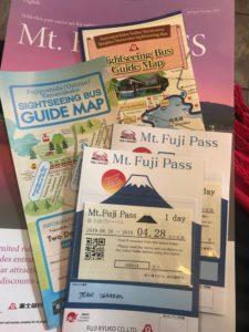 1-day Mt Fuji Pass