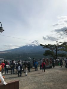 Flock of tourists during the Golden Week