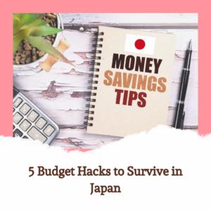 Budget Saving Hacks