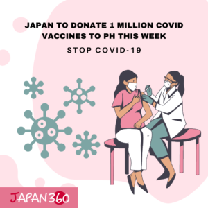 Japan to Donate 1 Million Covid Vaccines to PH this Week